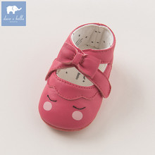 db6513 davebella baby girl leather shoes pre walkers first walkers(China)