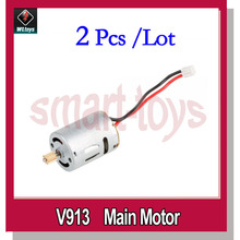 2Pcs V913-14 Main Motor for wltoys V913 Helicopter spare parts