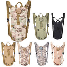 3L Portable Hydration Packs Camo Tactical Bike Bicycle Camel Water Bladder Bag Assault Backpack Camping Hiking Pouch Tools 2017(China)