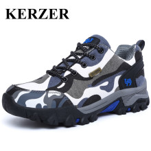Hot 2017 New Hiking Shoes Men Outdoor Trekking Sneakers Couples Autumn Winter Mountain Trainers Men Women Camo Climbing Shoes(China)