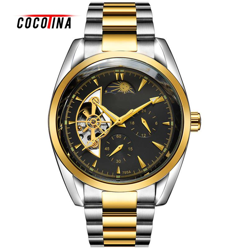 COCOTINA Luxury Brand Automatic Mechanical Watch Men Business Wristwatches Watches Men Clock LSB01369<br>