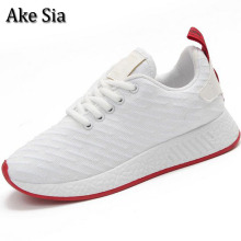 Ake Sia HOT Women Spring Autumn Lightweight Breathable Air Mesh Casual Female Flat Leisure Mujer Zapatillas Plimsolls Shoes F036(China)
