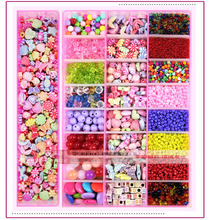 professional  Amblyopia beaded   training  box  full  fine training wear beads beaded children's medical training amblyopia