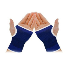 Outdoor Sports Armguard Palm Wrist Hand Support Glove Mitten Elastic Brace Sleeve Sports Bandage Gym Hands Wrap Pad Protector