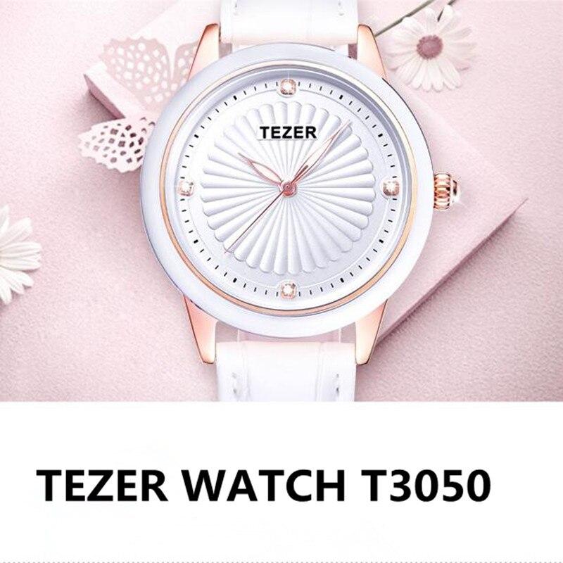 TEZER Simple Quartz Watch Women Wrist Watches Ladies Wristwatch Female Clock Quartz-Watch Relogio Feminino Montre Femme C72<br><br>Aliexpress