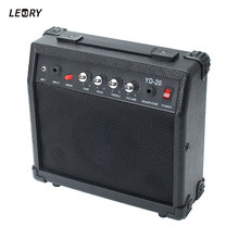 LEORY Portable Electric Guitar Speaker Amplifier Micro Speaker 20W With Portable Handle For Guitar Learners AC 220-240V