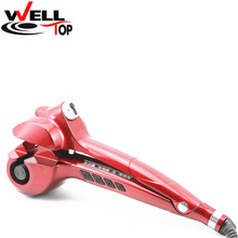 2017 Hair Curling Iron Hair Care Styling Scissors Automatic Ceramic Hair Curler for long Hair Weave