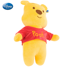 "Disney Winnie Pooh 24"" inches Plush Flat headrest pillow Baby Stuffed Toy Kids Preferred 61cm"