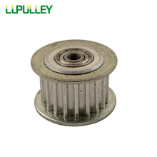 LUPULLEY Idler Belt Pulley 3M 40T Timing Passive Pulley Bore 5/6/7/8/10/12/15mm Width 11/16mm Width Bearing Tension Pulley 2PCS(China)
