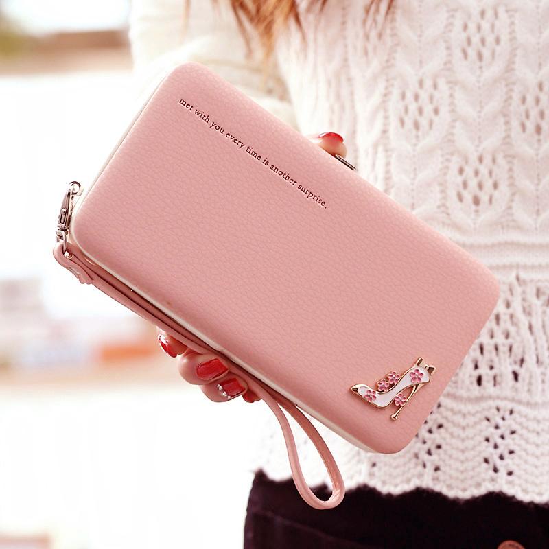 Leather-Wallet-Women-Purse-Phone-Bag-Case-(16)