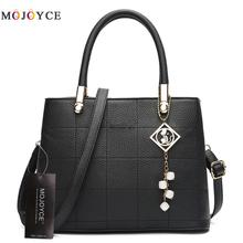 Women Bag Pu Leather Tote Brand Name Bag Ladies Handbag Lady Evening Bags Solid Female Messenger Bags Travel Fashion Sac a Dos(China)