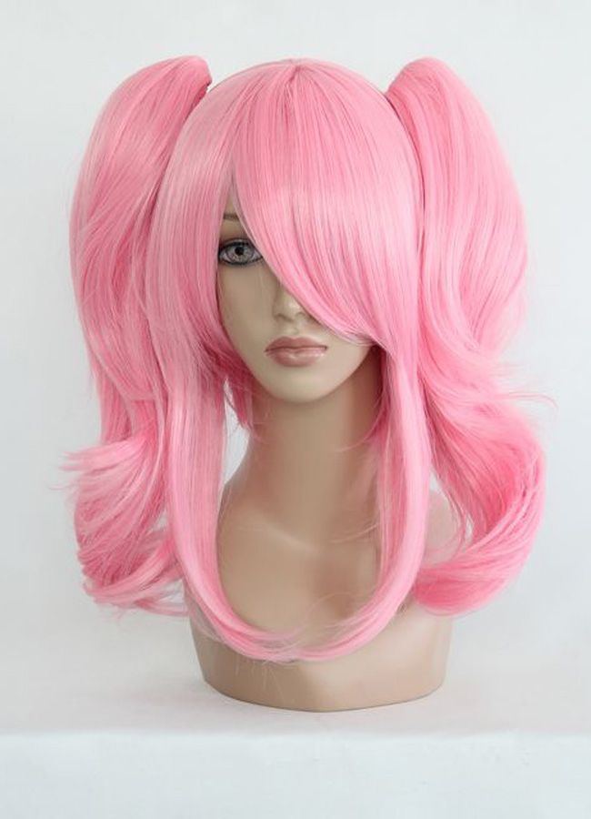 MCOSER Free Shipping Cheap 40cm Short Pink Beautiful Lolita Anime Wig Anime Wig<br><br>Aliexpress