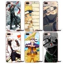 For Huawei Honor 4C 5X 5C 6X Mate 7 8 9 Y3 Y5 Y6 II 2 Pro G7 G8 P7 P8 P9 Lite 2017 Hokage Naruto Kakashi Cute Soft Case Cover