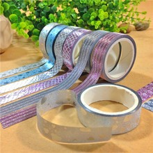 15mmx3m Random Pattern Decorative Washi Tape DIY Scrapbooking Masking Craft Tape School Office Supply