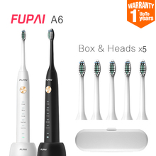 Sonic Electric Toothbrush Ultrasonic Whitening Teeth Vibrator Wireless Oral Hygiene timer 31000 times/m Five heads DuPont Brush(China)