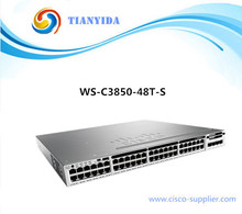 SFP Network Managed Switch WS-C3850-48T-E With Gigabit Port Switches
