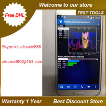 Free shipping dhl +S4 I9505 nemo handy & NMR , Support cat3 100mbps test