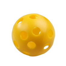 Wholesale Price 50Pcs/set Plastic Whiffle Airflow Hollow Golf Practice Training Sports Balls
