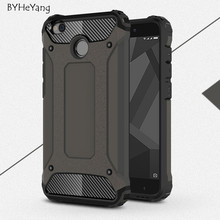 "BYHeYang Phone Case for Xiaomi redmi 4x case Hard Rugged Impact for Xiaomi redmi4X redmi 4 X Case 5.0"" Mobile Phone Accessories"