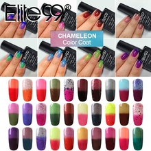 Elite99 Nail Gel Polish Temperature Change Nail Color UV Gel Polish Chameleon Gradient Nail Gel Varnish 10ml Gelpolish