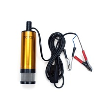 1 X 12V DC Submersible Diese Fuel Water Oil 12L/Min Transfer Pump For Car Camping Fishing