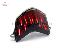 motorcycle Smoke LED Turn Signals Tail Brake Light case for Kawasaki Ninja ZX6R 2005 2006 ZX10R 2006 2007 Z750S 2005 2006