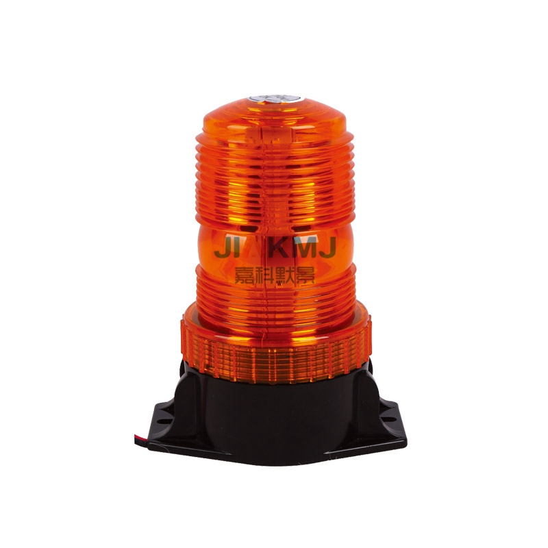 1x-9W-10-110V-DC-AMBER-STROBE-LED-Forklift-lamp-Emergency-flashing-Light-Beacon-school-Bus