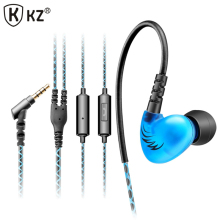 Original KZ C6 Supper Bass In-ear Earphones Headset Sport Running Headset For iPhone 6 for Xiaomi Huawei MP3 MP4 PC auriculares(China)