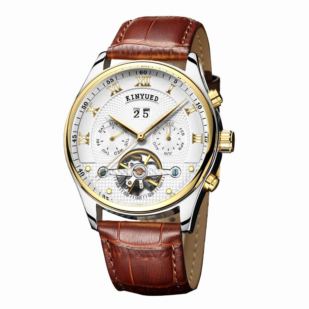 Brown men quartz white dial wristwatch top luxury watches male business fashion watch ultra thin men watch relogio masculino new<br>