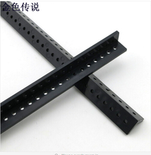 2Pcs Angle-Long Perforated Plastic Strip Profile Manual Remote Control Cars Upgrade Accessories 17189TW(China)