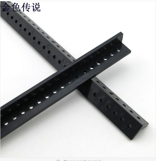 2Pcs Angle-Long Perforated Plastic Strip Profile Manual Remote Control Cars Upgrade Accessories 17189TW(China (Mainland))
