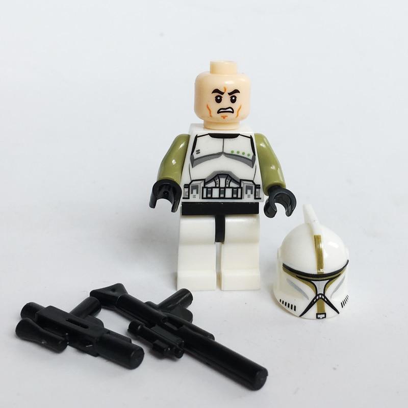 30pcs lot Star Wars Stormtrooper Battle Pack Custom lego minifigure