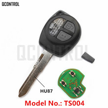QCONTROL Car Remote Key Fit for SUZUKI SWIFT SX4 ALTO VITARA IGNIS JIMNY Splash 315MHz ID46 Chip 2006 2007 2008 2009 2010(China)
