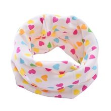 2017 New Fashion 100% Cotton Baby Scarf Spring Autumn Children Scarves Winter Boys Girls Scarf Kids O Ring Collars Magic Scarf