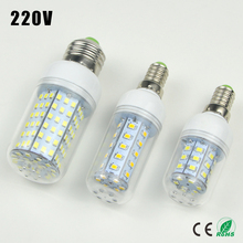 1X 30 36 48 56 69 89 102 126 E27 E14 220V LED Corn light Bulb Replace Compact Fluorescent lamp (7W 12W 15W 20W 25W 30W 35W 40W)