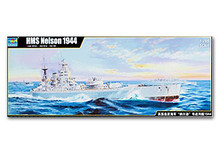 "Trumpeter 1/200 scale 03708 The Royal Navy HMS ""Nelson"" Battleship 1944(China)"