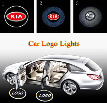 2x Car LED Door Warning Light welcome Logo Projector for Kia rio sportage ceed rio k2 cerato sorento k3 k5 sportage