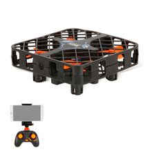 Linxtech 1602WH Wifi FPV 2.4G 6 Axis Gyro 3D Flip 0.3MP Camera Crashworthy Structure Altitude Hold Mini RC Quadcopter