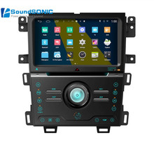 Quad Core Android 4.4.4 For Ford Edge 2011+ Touch Screen Car DVD GPS Navigation Central Multimedia Android System For Ford Edge