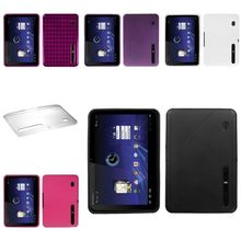 Pink/Black/White/Clear Phone Protector Skin Case Cover For Motorola Xoom MZ600
