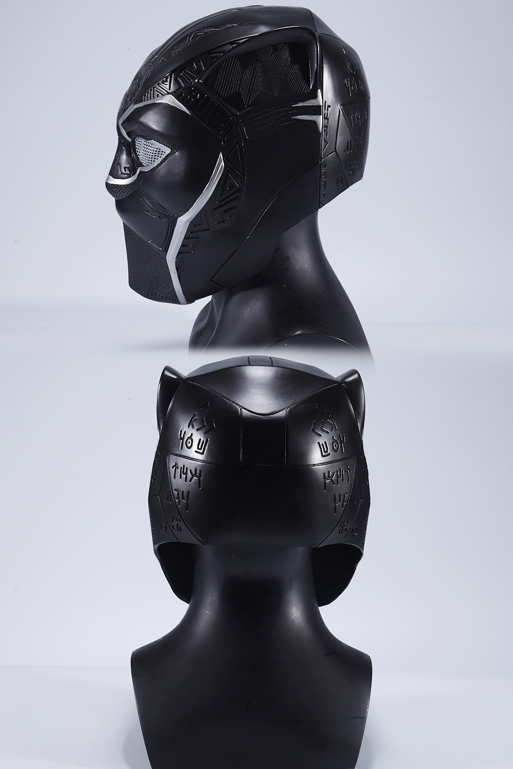 New Year Captain America Civil War T'Challa Black Panther Wakanda Cosplay Mask Black Helmet Carnival Party Mask For Adult 2018 (4)