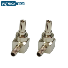 CRC9 connectors 5pcs RF coaxial cable female adapter CRC9 audio video TV antenna coaxial cable converter CRC9 wire connectors