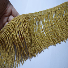 Free shipping 1YD brown soluble Venise Lace Trim with Embellish basic covers and curtains with borders,  fringing 17022602