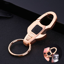 Top quality Metal Keychain Design Cool Luxury Men Car Key Chain Key Ring chain Opener Key Ring chain For business Gifts K1168(China)