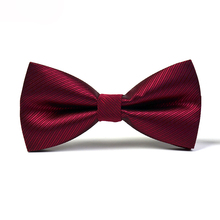 2017 New Fashion Designer Brand Bow Tie Luxury Men's Fashion Bowties for Men Wedding Elegant Butterfly Bow Ties and Gift Box(China)