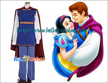 Snow White and the Seven Dwarfs Cosplay Prince Costume H008