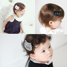 Korea Hair Clip Cloth Cat Kitty Hair Accessories Rim Hairpin Fascinator Barrette Accesorios Para el Pelo 4(China)