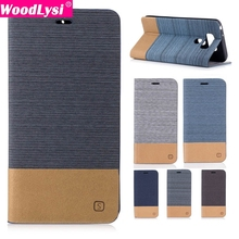 Mixed Colors Canvas Style Leather Flip Case For for LG G6 Leather Bag Case with credit card Holder Lanyard