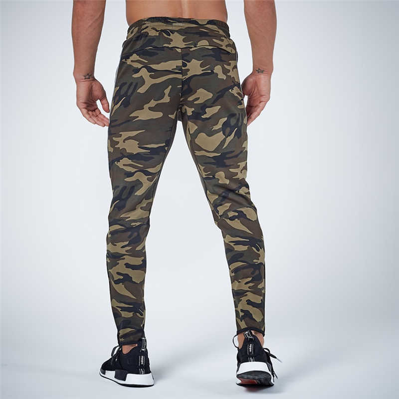 GYMOHYEAH NEW pants Men's High quality workout bodybuilding clothing casual camouflage sweatpants joggers pants skinny trousers 21