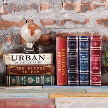 Fake Book European study Home Furnishing living room TV Cabinet Bookcase ornaments soft ornament simulation book props